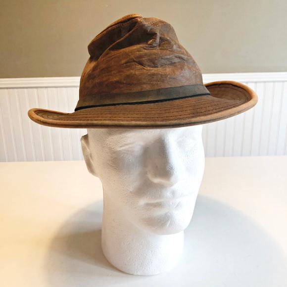 Adventure Bound Other - Adventure Bound Leather Fedora Indiana Jones SMALL 875a213c6db